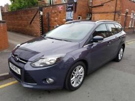 2012 (12) FORD FOCUS 1.6 TDCI TITANIUM (LOW RATE FINANCE APPLY ONLINE)