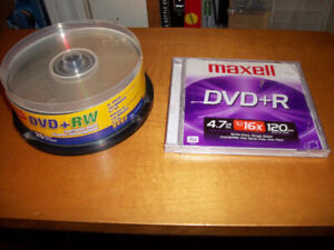 Brand New Blank Rewritable DVD'S
