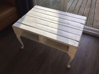 Custom upcycled coffee table