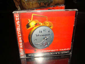 CD-PERFECT TIMING-JOHNNY DANGEROUSLY+DJ STORM (TECHNO-HOUSE)