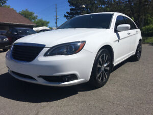 2012 Chrysler 200 S Nav, Leather, Safety Only $8800