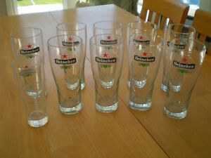 HEINEKEN BEER GLASSES
