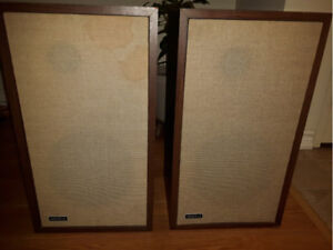Large Advent speakers, trade for tube buffer or dac