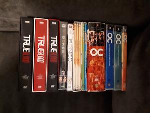 Movie box sets 8$ per box