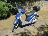 2004 Piaggio Liberty 125 Scooter Moped Spares or Repair 124cc 4 Stroke Four