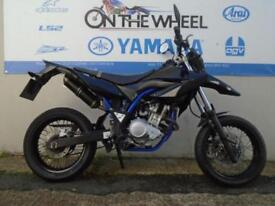 2014 YAMAHA WR 125 X IN PURE BLACK **FULL SERVICE HISTORY**
