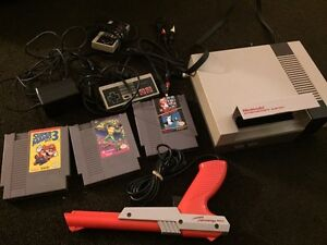 Nintendo entertainment system  and games