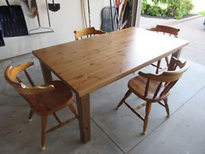 Ikea Forsby Dining Table and Optional Chairs