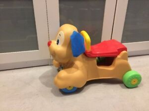 trotteur puppy fisher price