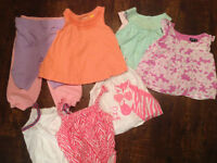 Baby girl 3-6 months summer clothes