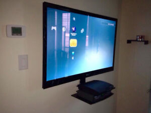 Fast Tv wall mounting Service - Tv wall mount included
