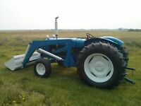 1953 Fordson New Major - great acreage tractor