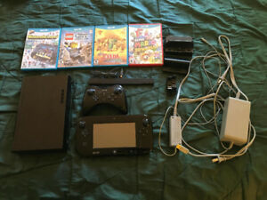 Nintendo Wii U system with Pro Controller and Games