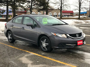 2015 Honda Civic LX Sedan! Certified! Power-Train Warranty!