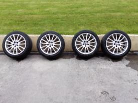 "Set of Volvo Alloys 17"" Spartacus X 4"