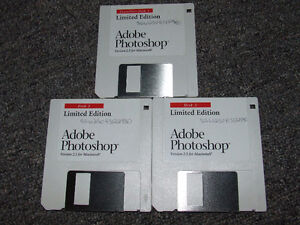 Adobe Photoshop Ver. 2.5 Limited Edition - 3 Disc Set - $25.00