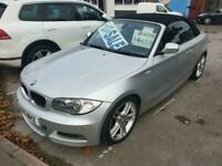 JUST IN BMW 120D M SPORT CONVERTIBLE , MOT 25/06/21 , 1995CC , 6 SPEED BOX