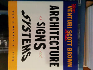 architecture as signs and systems