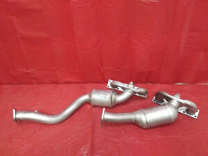 Fit BMW 525i 2.5L Manifold Catalytic Converters 2001 2002 2003