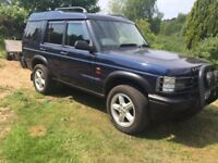 Land rover discovery 2 td5 damaged salvage mint chassis engine
