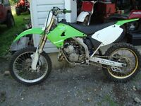 kx 125 to trade for 250 four stroke