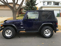 1998 Jeep TJ Convertible 149,000 KMs