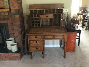 Vintage Banker's Desk