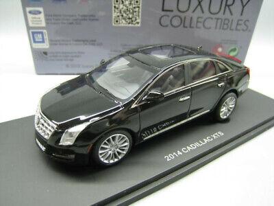 1/43 CADILLAC XTS 2014 CAR MODEL BLACK COLOR