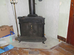 Franklin fire place