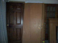 Doors wooden and metal exterior interior french glass oak