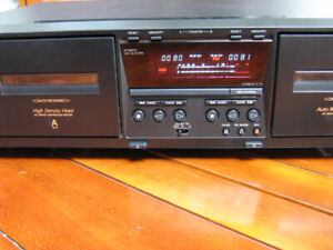 TAPE DECK CASSETTE DOUBLE SONY COMME NEUF / LIKE NEW