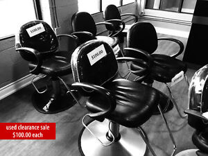 Salon furniture clearance sale! NEW & USED, top quality