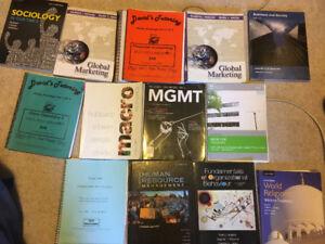 Textbooks - Please negotiate!
