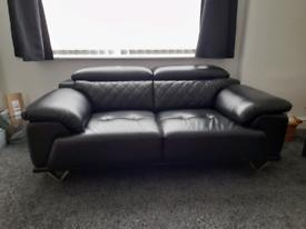 2 & 3 piece leather sofa