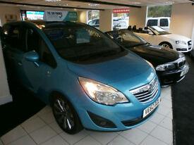 2012 62Reg Vauxhall/Opel Meriva 1.4i 16v Turbo ( 140ps ) ( a/c ) 1398cc SE