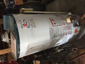 Used hot water heater