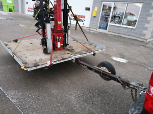Double ATV/Skidoo Trailer Tilting