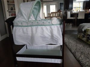 Baby bassinet.never used.