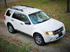 2012 Ford Escape xlt  private sale partial trade considered