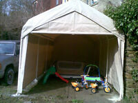 WTB USED COSTCO STYLE PORTABLE CAR SHELTERS &/OR PARTS
