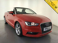 2015 AUDI A3 SPORT TDI DIESEL CONVERTIBLE AUTOMATIC £30 ROAD TAX 1 OWNER