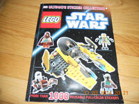 """Livre """"collection autocollants"""" Lego Star Wars collection book"""