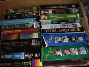 Christian Movies on VHS