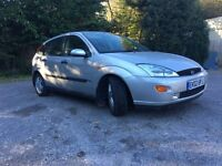 Ford Focus 2002 Silver Manual 5 Door FSH MOT Drives Spot On! 2 Owners 1.8L