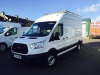 2014 64 Ford Transit High Roof LWB 2.2TDCi ( 125PS ) 350 L3H3 - Diesel Van