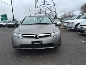 2008 Honda civic lx safety and E.tested for 7495$