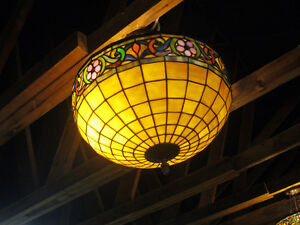 5 Tiffany Hanging Light Fixtures available