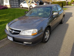 ACURA TL ONLY 177000 kms