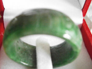 EXCELLENT JADE RING STONE 25 YEARS OLD Windsor Region Ontario image 2