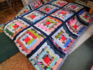 """Custom made Quilt - 72"""" x 80"""" for Queen sized bed"""